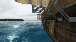 Pirate scene in the Triton Ocean SDK demo video