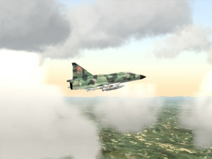 Screenshot of the SilverLining Sky, Cloud, and Weather SDK